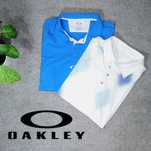Two Oakley Polos Large